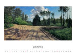 Kalendarz z reprodukcjami obrazów Agnieszki Słodkowskiej