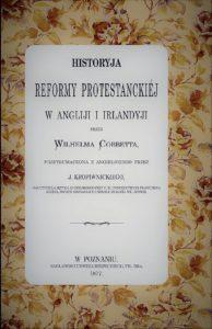 Historia reformy protestanckiej w Anglii i Irlandii